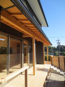 大きな窓が特徴的な二世帯住宅|東海市K邸_サンプル画像03